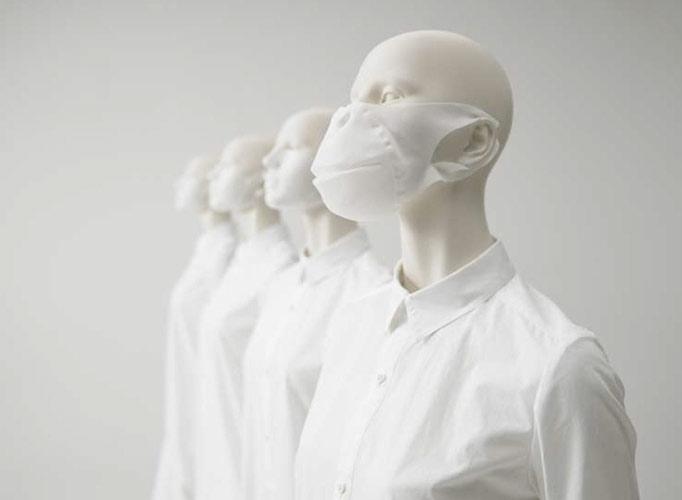 除了防霾,口罩也可以这样美
