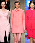 2013秋冬时装流行色之魅力粉红:点点浪漫从色彩开始
