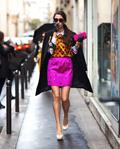 欧美时尚盛典告诉你 粉色才是最朋克的