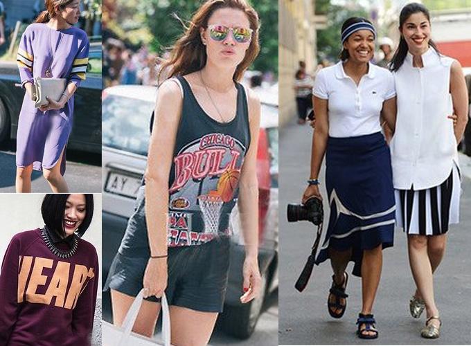 运动元素 夏日最自在时髦女郎