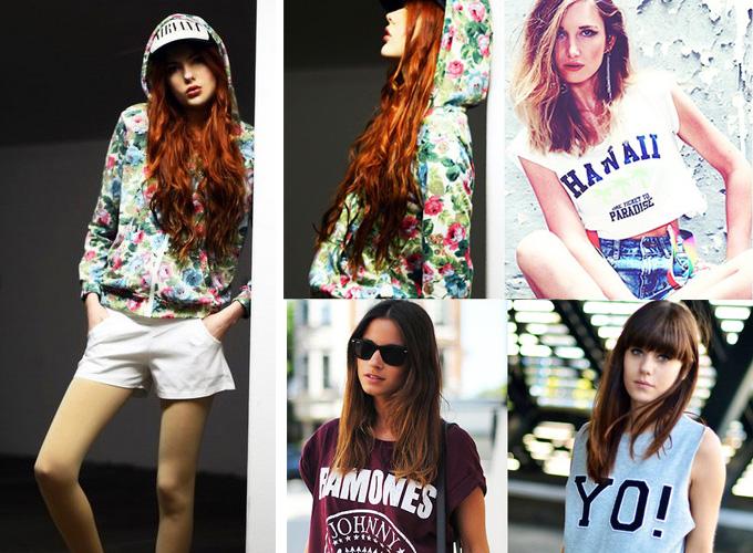 今夏心动时尚运动风 潮人齐秀运动装
