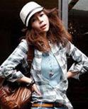 秋装格子衬衫 百变时尚女六种穿法