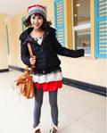 外套+打底裤+短靴 冬季最显瘦搭配