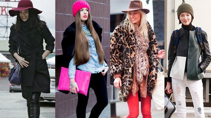 外套+紧身裤+帽子 完美显瘦从头开始