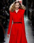 2013冬季流行色之红色系时装