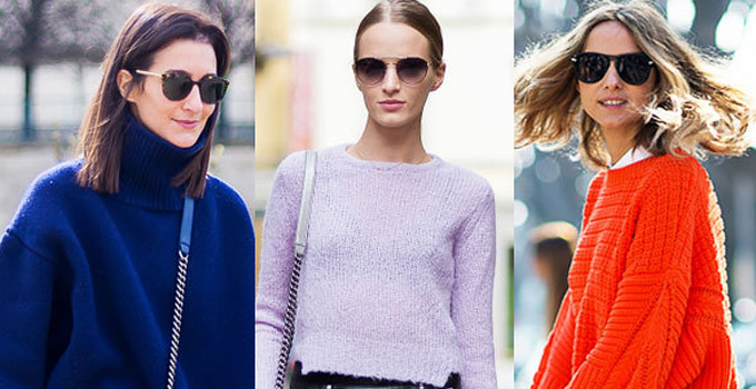 趋势:爱上毛衣的浪漫