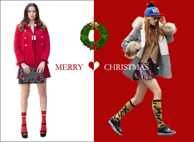 圣诞派对装:性感又暖心