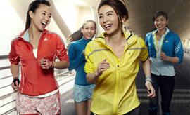 运动品牌盯上女子市场