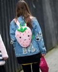 时装周街拍盘点 那些惊艳的奇葩包包