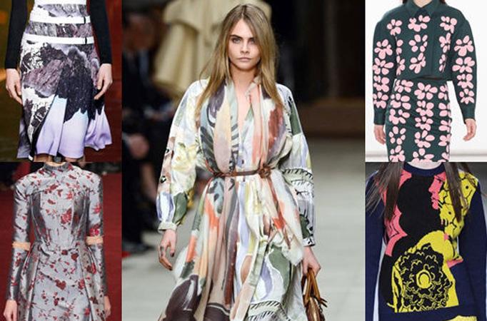 伦敦时装周 印花时尚王国巅峰对决