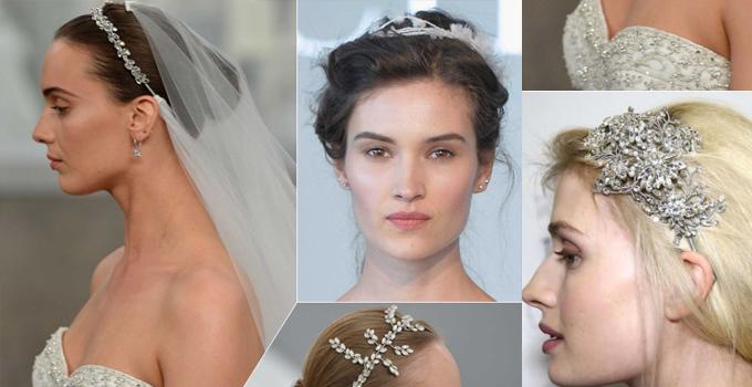 2015春夏婚纱秀场上的新娘发饰灵感