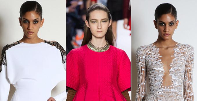 2014秋冬巴黎时装周上的结婚礼服灵感带来创意嫁衣