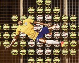 世界杯 运动品牌的竞技场