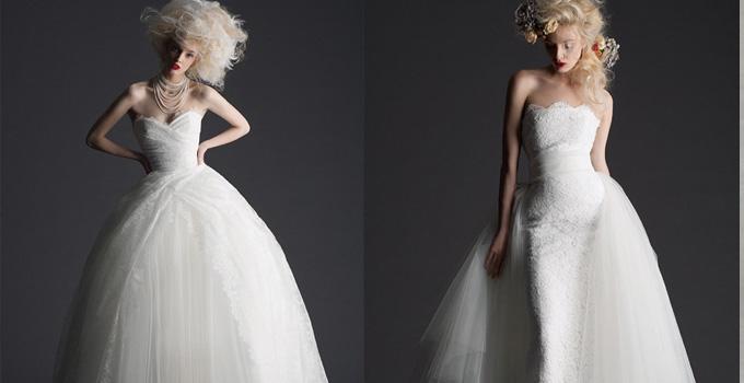 Cymbeline2014婚纱 天使降临人间
