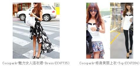 韩国女装COCOPARK 韩衣网中国代理