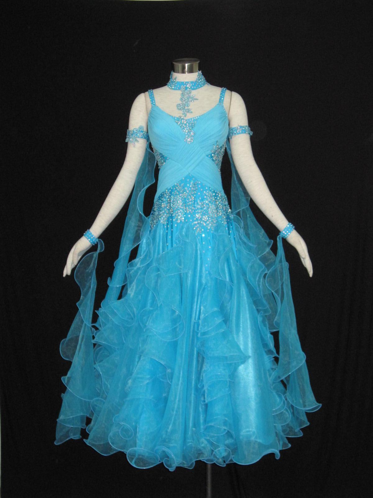 服装 比赛/供应国标舞裙摩登舞裙拉丁舞裙比赛裙 比赛级摩登舞裙...[详细]...