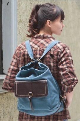 青春演绎到极致的质朴简单潮味帆布包