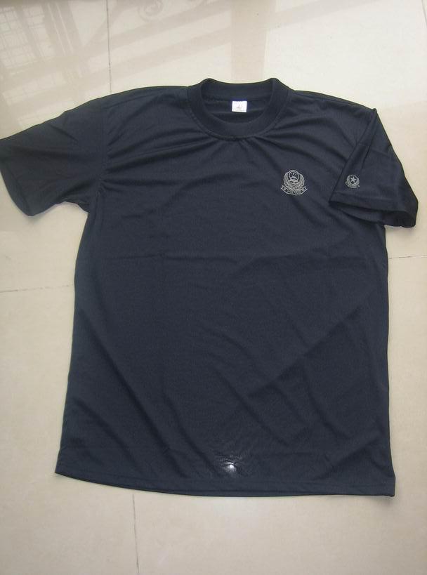 厂家直销警察T恤 警察纯棉T恤
