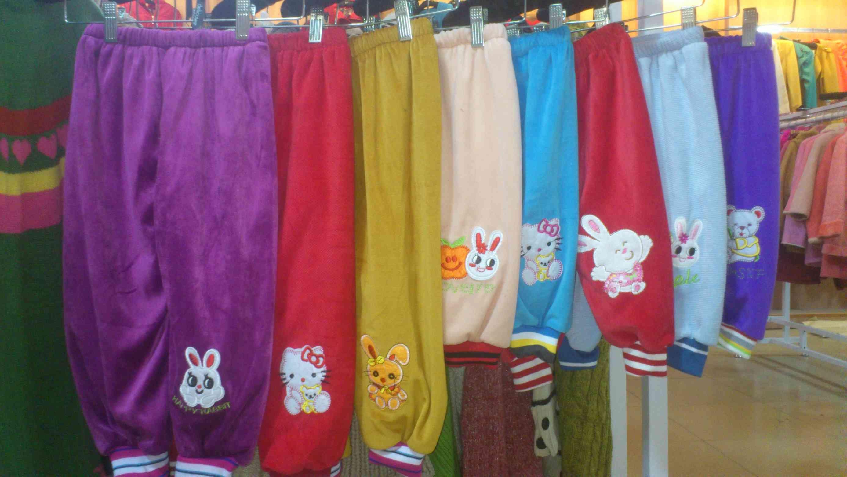 冬季小孩的棉裤价格北京大红门5元童装棉裤9元童装棉裤批发