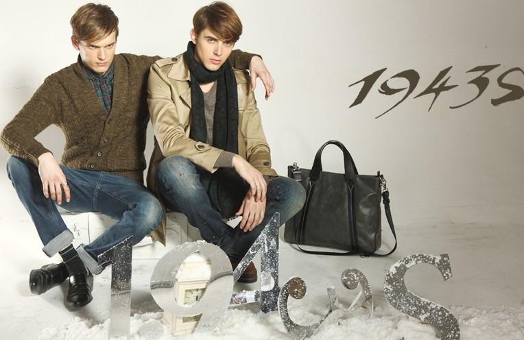 1943s品牌所要诠释、创作、推广着衣的一种优雅、闲逸、一种1943s个性!