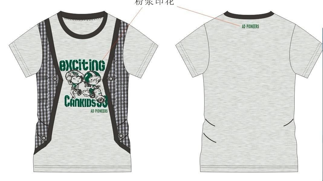 中童装t恤生产工厂
