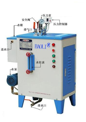 縫后整燙設備電加熱蒸汽發生器