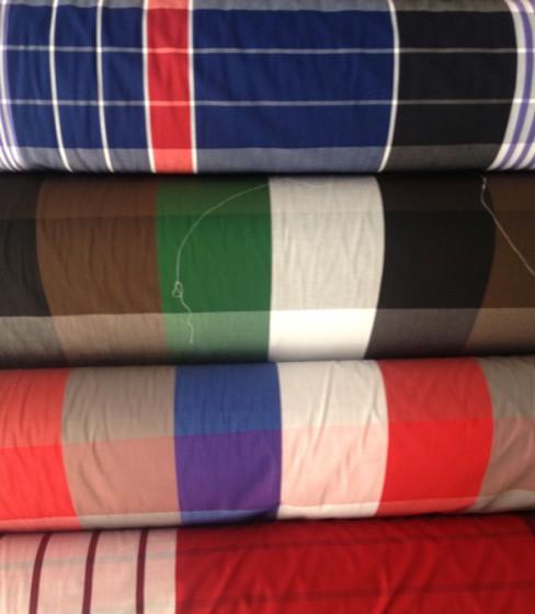 梭织布批发经销 混纺色织布价格 服装色织布批发