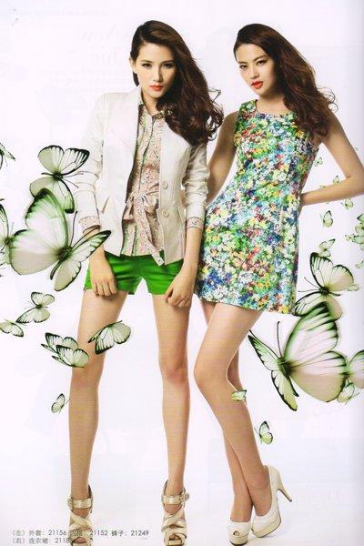 想加盟服装项目  选格蕾诗芙品牌折扣女装