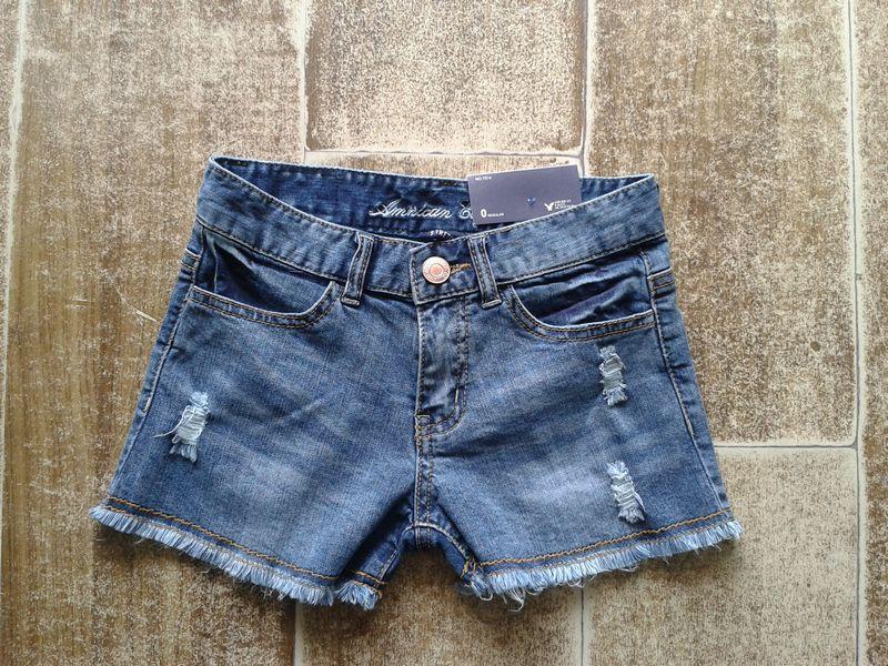 2013年夏季新款 原單品質 美洲鷹百搭牛仔短褲女  外貿牛仔熱褲  牛仔
