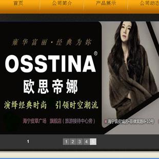 欧思帝娜OSSTINA2012秋冬皮草服饰新品发布
