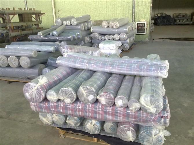 收購南通東臺庫存面料布料輔料處理布庫存紡織品