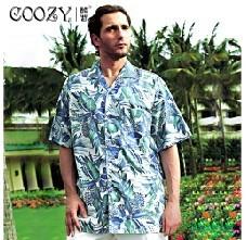 新品特價男士襯衣2013新款歐美純棉印花短袖休閑襯衫沙灘裝包郵