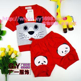 夏季便宜的小孩服装批发 广州夏季几块钱的小孩衣服