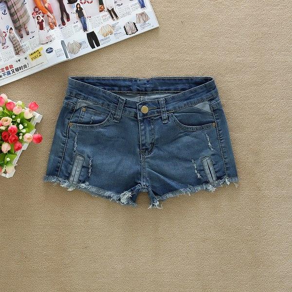 2013爆款新品韩版高腰牛仔短裤女夏热裤短裤显瘦