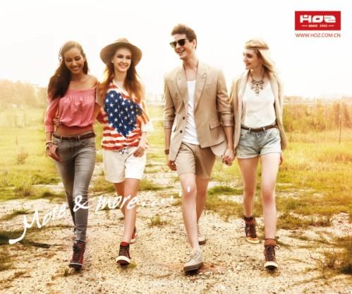 走进HOZ--美国HOZ时尚休闲鞋品牌历程