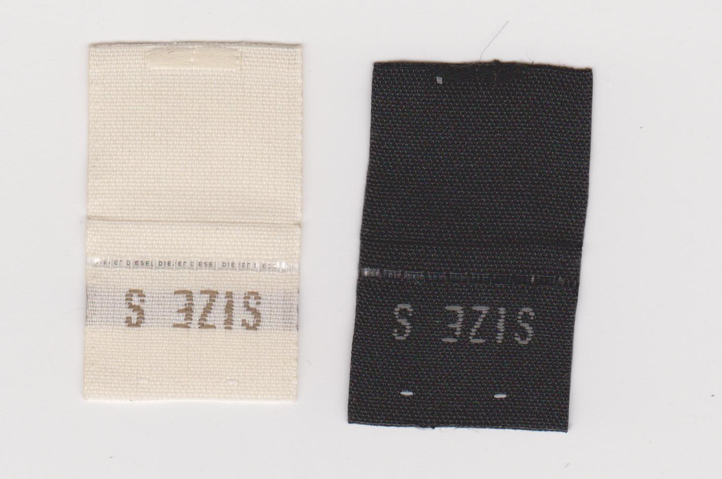 微缩文字防伪织唛,安全线防伪布标批发
