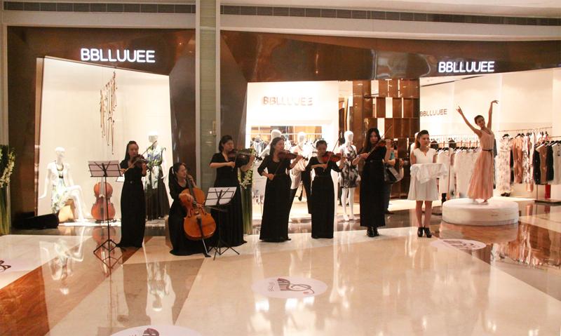 BBLLUUEE:中国时装的艺术营销
