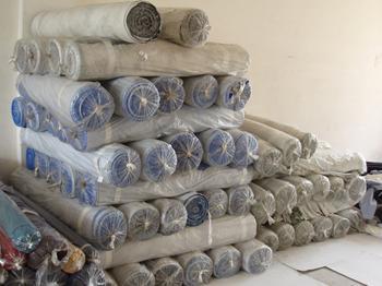 惠州收购服装面料,惠州回收库存面料