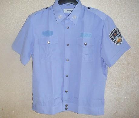 警察夏季短袖执勤服