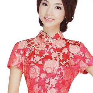 格格旗袍2013时尚旗袍招商加盟