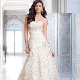多面新娘Alfred Angelo2012婚纱发布会