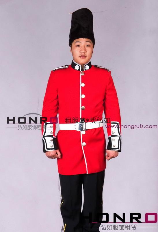 皇家卫兵服装出租,上海欧洲宫廷服出租图片