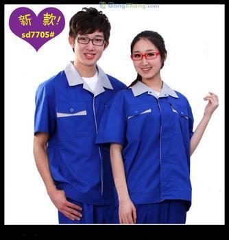 龍崗工衣訂做及深圳東莞鳳崗惠州淡水廠服工裝由紫光提供
