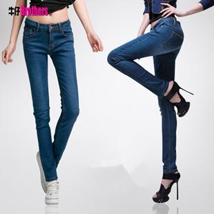 10以下是女装服装 女式牛仔裤 便宜地摊货 小脚