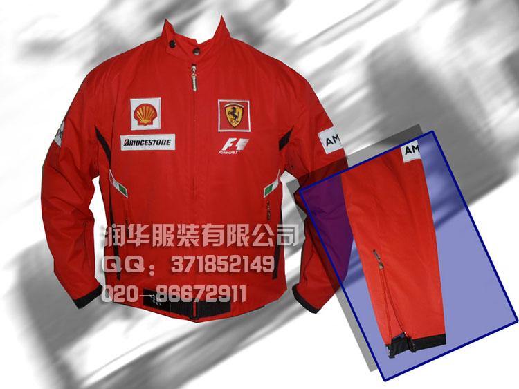 职业套装,促销服装,比赛队服,公司活动用的服装,广告衫,赛车服,f1赛车