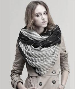 纯羊绒围巾正品