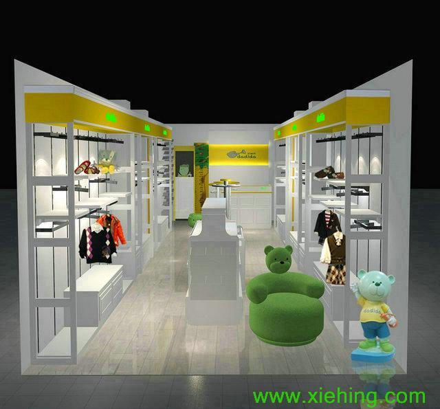 【書生推薦】泉州兒童服裝展柜 精品女裝展柜 男裝展柜供應