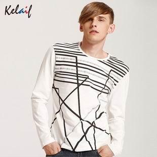 卡莱芙男装秋装新款潮品青年男士休闲英伦中长款风衣纯色风衣外套批发分销加盟