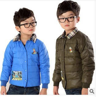 韩版男童羽绒服