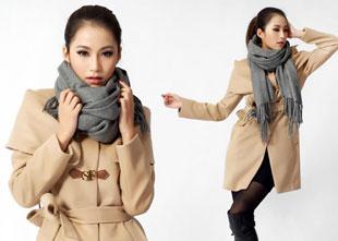 纯羊绒高档围巾披肩